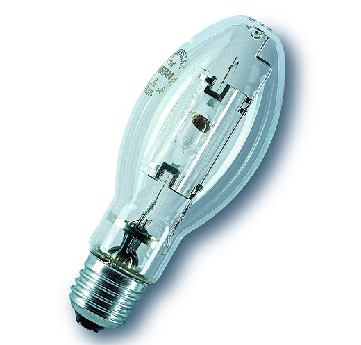Металлогалогенная лампа на на снимке