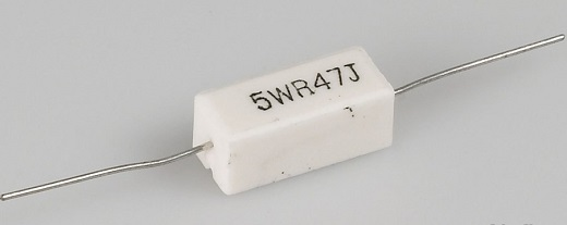 Резистор 5 Вт на снимке