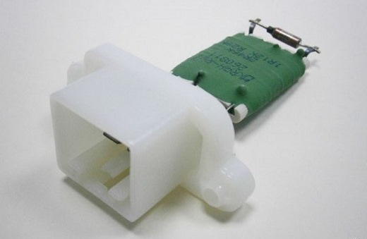 На снимке представлен резистор печки Ford Focus 2