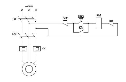 Схема генератора на базе асинхронного двигателя
