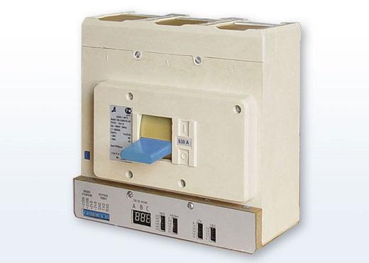 Автоматические выключатели ВА 57-35 на снимке