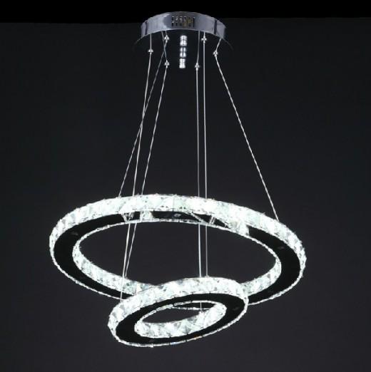Люстра светодиодная, дизайн кольцо на картинке