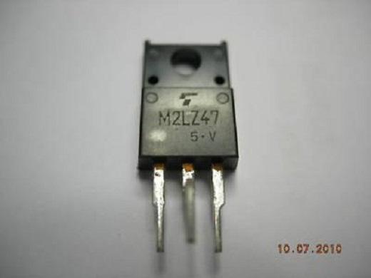 Симистор m2lz47 представлен ан фото