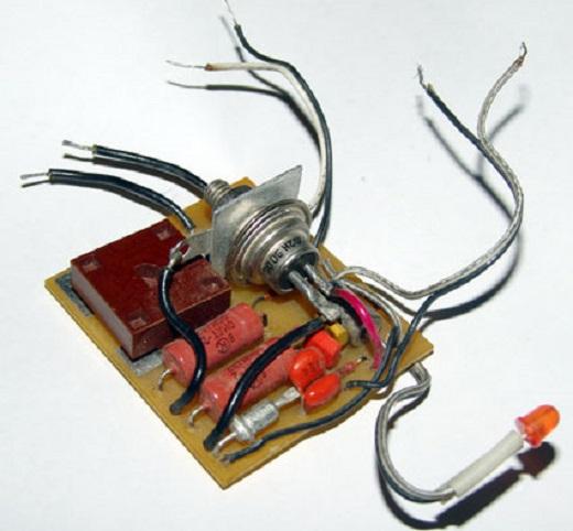 Процесс сборки регулятора мощности для паяльника