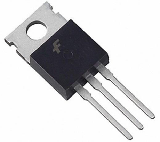 На снимке симистор BT131-600
