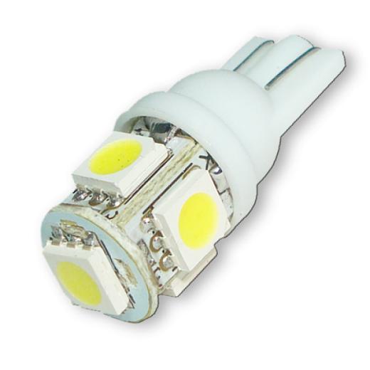 Светодиодные лампы Т10 на снимке
