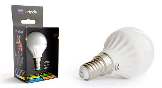 Artpole лампа светодиодная на фото