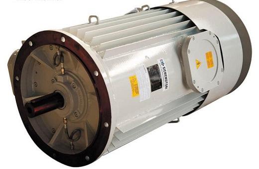 На фото генератор постоянного тока во взрывозащищенном исполнении