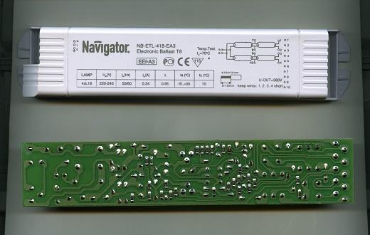 Балласт для люминесцентных ламп Т8 Navigator на фото