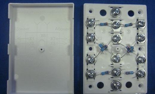 КРА 4 коробка распределительная на снимке