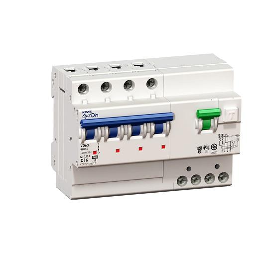 Выключатель ABB УЗО 4p ac25 300ma 6ka f204 представлен на фото