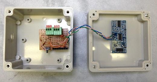 На фото лазерный датчик расстояния Аrduino