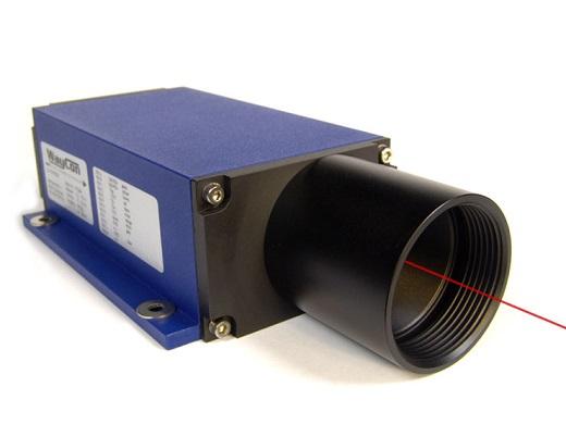 На снимке изображен лазерный датчик расстояния высокой точности