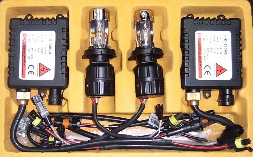 На фото комплект галогеновых ламп для установки