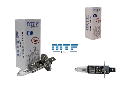 Галогеновые лампы MTF на фото