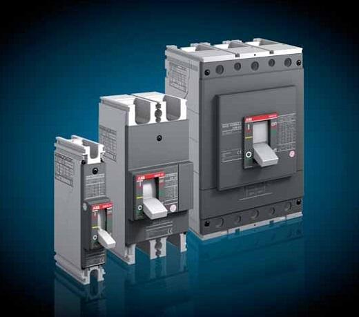 На фото изображены автоматические выключатели ABB