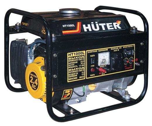 Переносной генератор переменного тока на фото