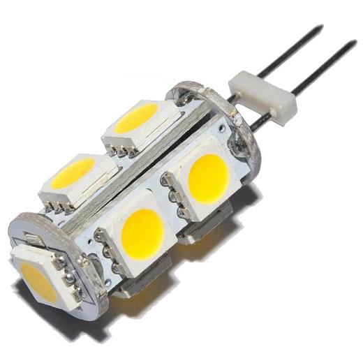 На фото лампы светодиодные с цоколем G4