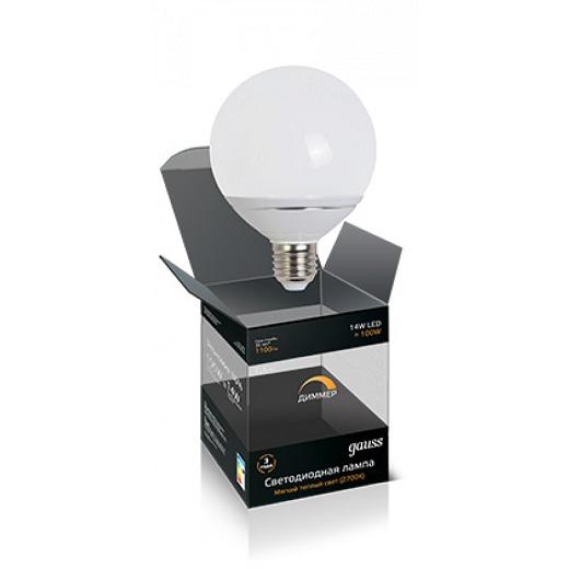Диммируемая светодиодная лампа E27 на фото