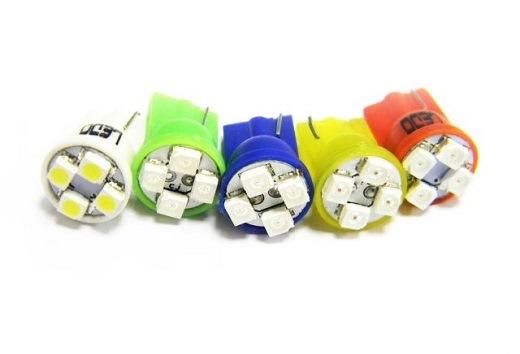 W5W лампа светодиодная на фото