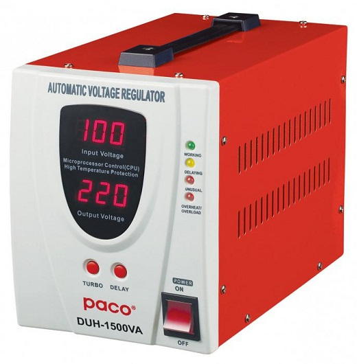 Стабилизатор напряжения для холодильников, защищающий от перепадов напряжения
